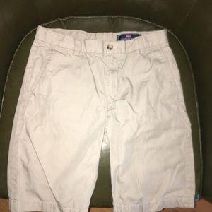 Vineyard Vines khaki breaker shorts boy size 14